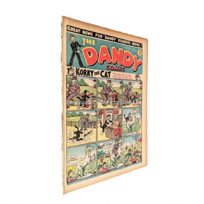The Dandy Comic No 170 March 1st 1941 D.C. Thomson